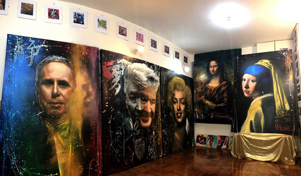 Gallery Michael Andrew Law interior
