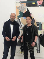 Michael Andrew Law meets with Painter Magnus Pless by michaelandrewlaw