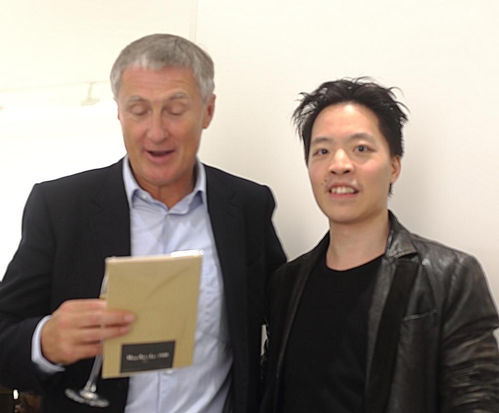 Michael Andrew Law Meet David Zwirner himself IV by michaelandrewlaw