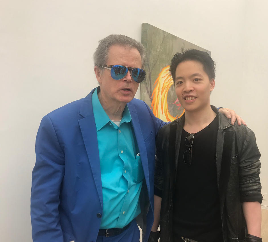 Michael Andrew Law Meets Painter Jim Shaw by michaelandrewlaw