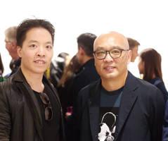 Michael Andrew Law Meets Artist Zhang XiaoGang by michaelandrewlaw