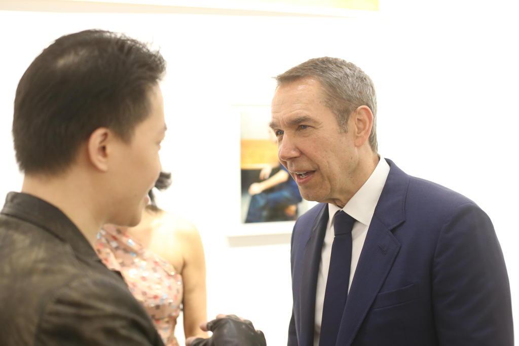Michael Andrew Law Meets the Legendary Jeff Koons by michaelandrewlaw