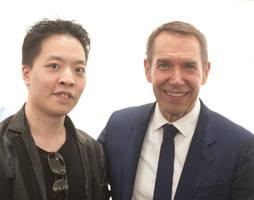 Michael Andrew Law Meets Jeff Koons by michaelandrewlaw
