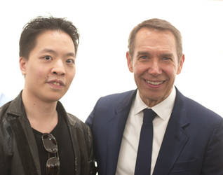 Michael Andrew Law Meets Jeff Koons by michaelandrewlaw