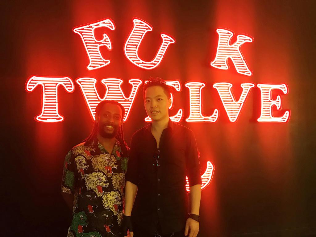Law Cheuk Yui meet Awol Erizku by michaelandrewlaw