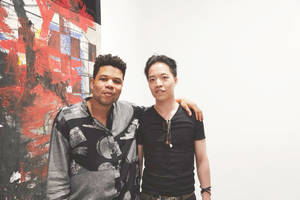 Michael Andrew Law Cheuk Yui and Oscar Murillo by michaelandrewlaw