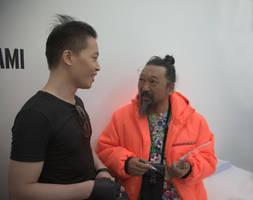 Michael Andrew Law Cheuk Yui and Murakami Takashi by michaelandrewlaw