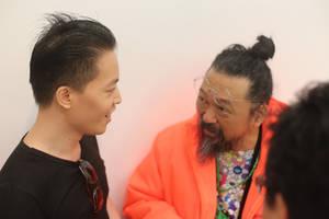 Michael Andrew Law Cheuk Yui and Murakami Takashi2 by michaelandrewlaw