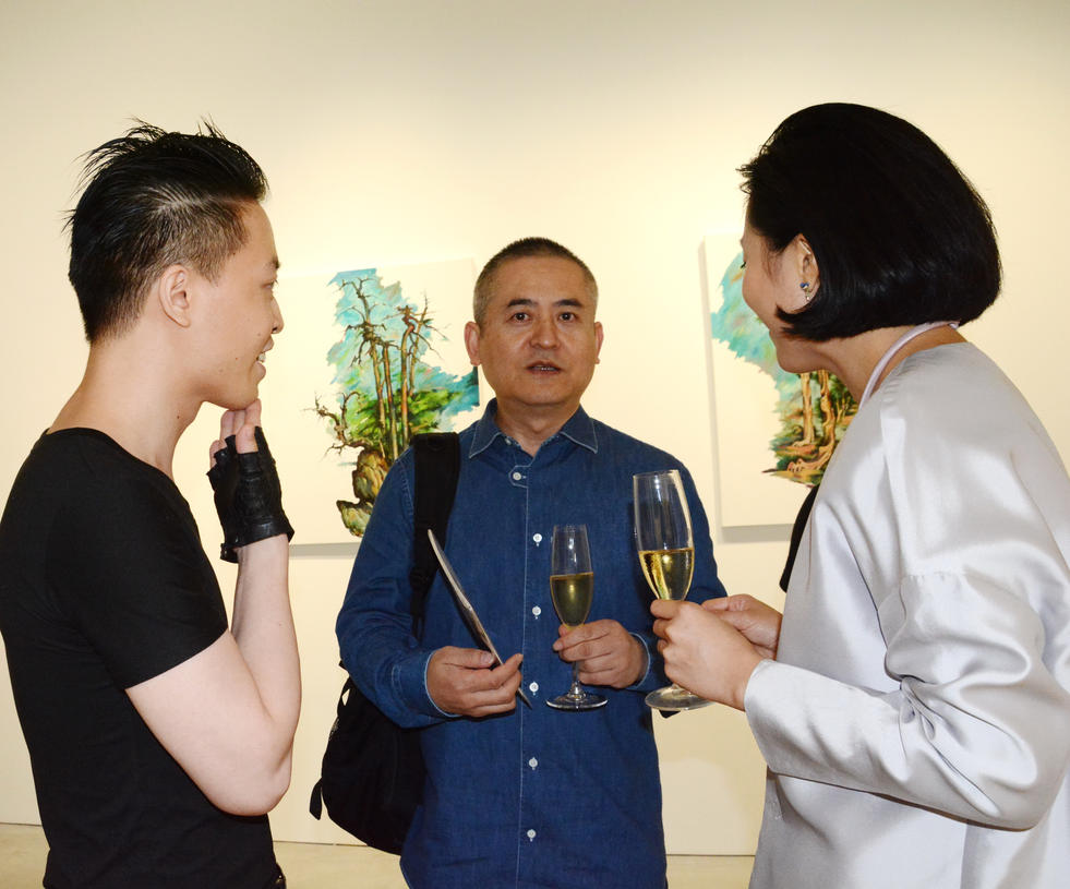 Michael Andrew Law Cheuk Yui and Zeng Fanzhi 2 by michaelandrewlaw