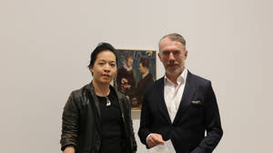 Michael Andrew Law Cheuk Yui Meets Neo Rauch by michaelandrewlaw