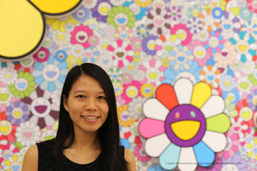 Michelle and Takashi Murakami Flowers by michaelandrewlaw