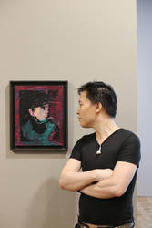 Michael Andrew Law Cheuk Yui Meet Andy Warhol by michaelandrewlaw