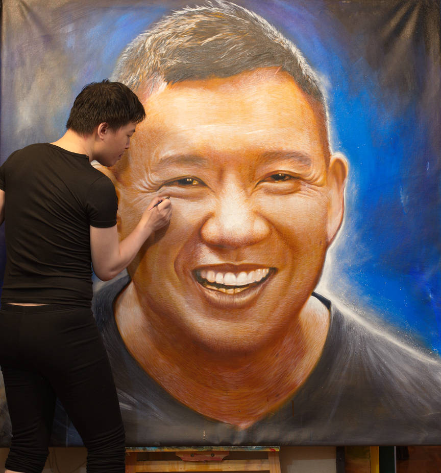 Michael Andrew Law Cheuk Yui Paint Chapman To by michaelandrewlaw