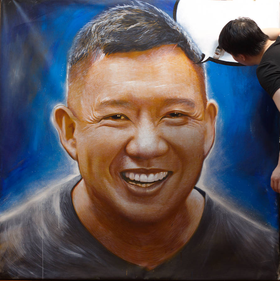 Michael Andrew Law Cheuk Yui Painting Chapman To by michaelandrewlaw