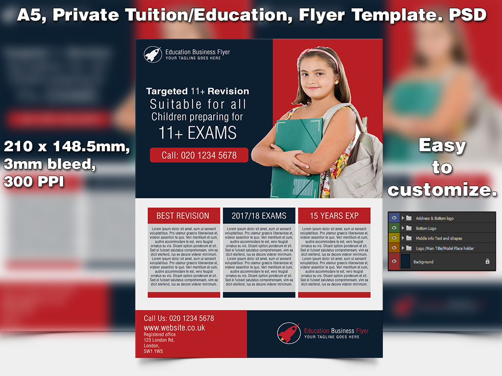 Education business flyer template a5 psd by studio81gfx on deviantart education business flyer template a5 psd by studio81gfx flashek Images