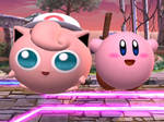 Jigglypuff and Kirby funtime