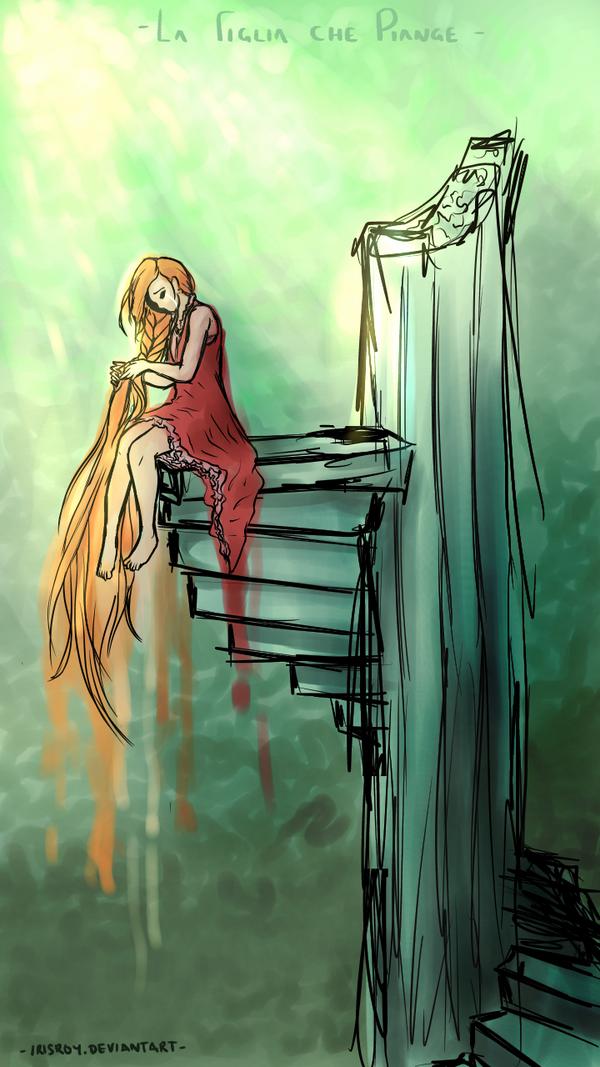 la figlia che piange