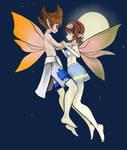 Free Request: Yuki Mizusawa and Madoka Amano by VeldaitYuvelt