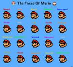 Mario Faces