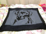 labrador blanket by LadyNespa