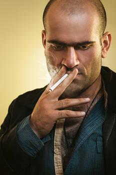 Mohsen,Tough Cigaret Guy