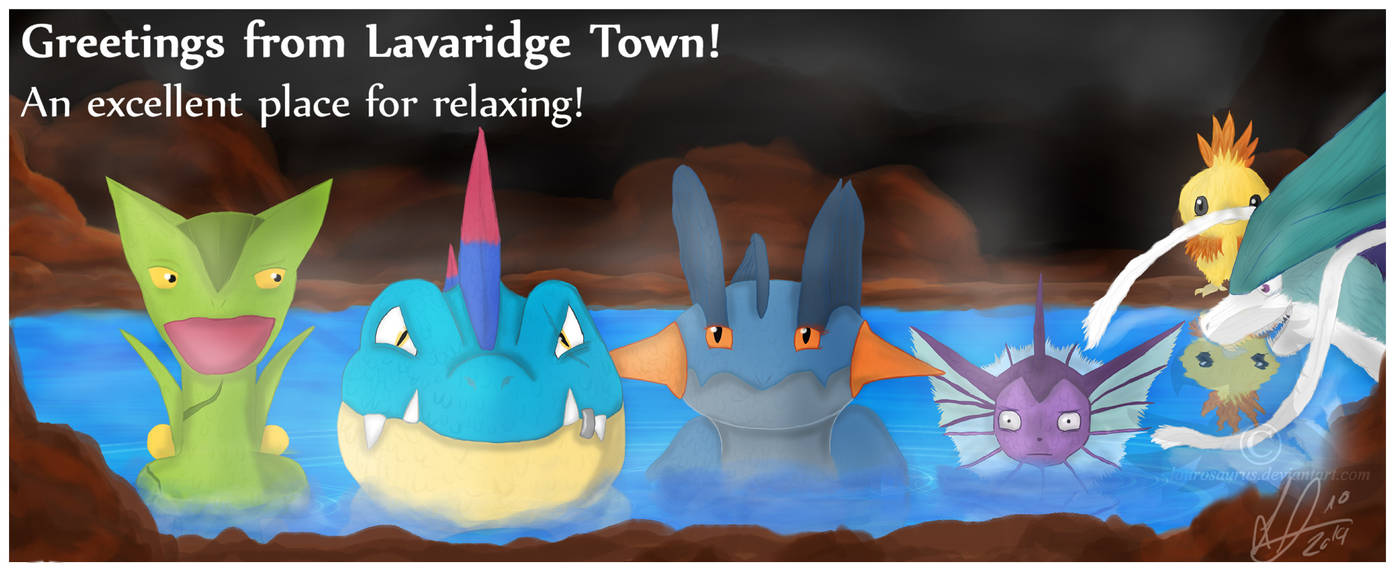 Contest entry 4 Mewitti's ORAS Hype Art Contest by Laurosaurus