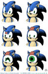 sonic  horror nightmare fuel