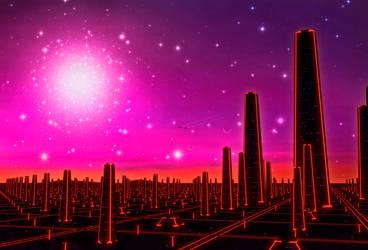 Retrowave Exoplanet