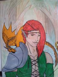 Le chasseur au dragonnet