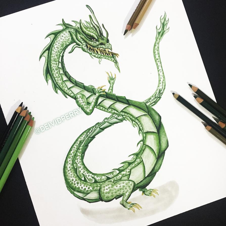 Jade dragon tattoo by piercetheparamorance on deviantart for Jade dragon tattoo