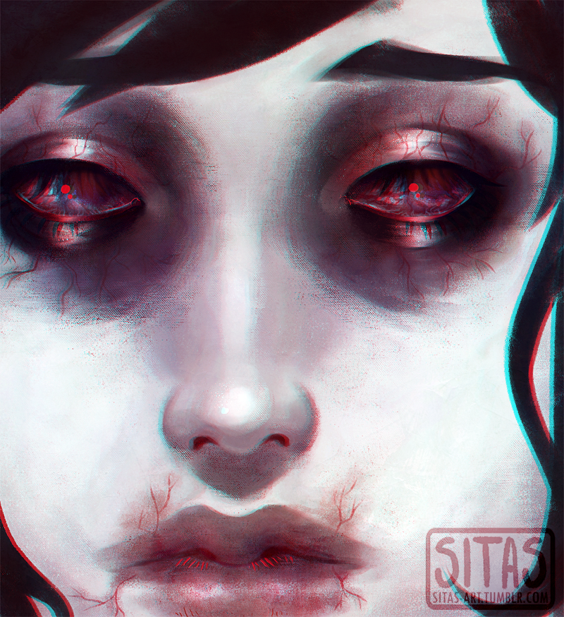 Infected eyes by Sitas-the-Fool