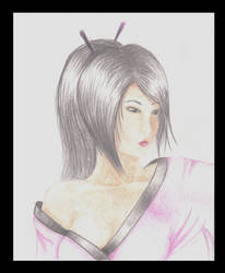 Mekona - Pencil Coloured by Shinee-9