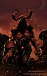 Scalera's Hellboy coloring