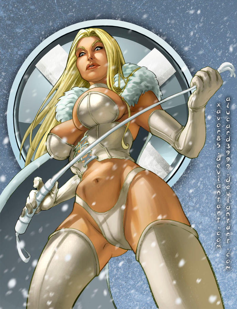 Emma Frost Color By Xavor85 On Deviantart