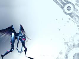 Angel Mech Wallpaper by xavor85