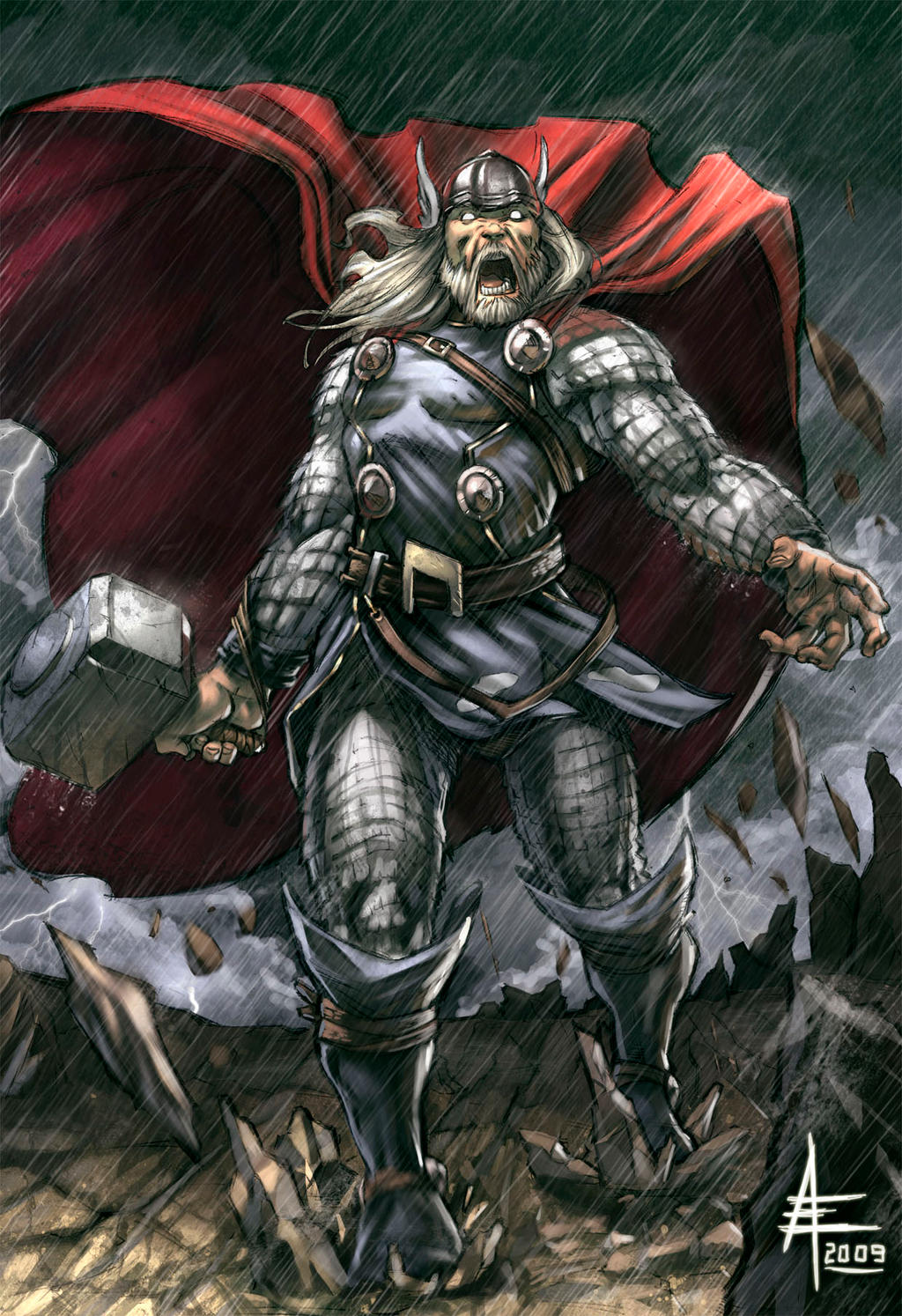 Mighty Thor by xavor85