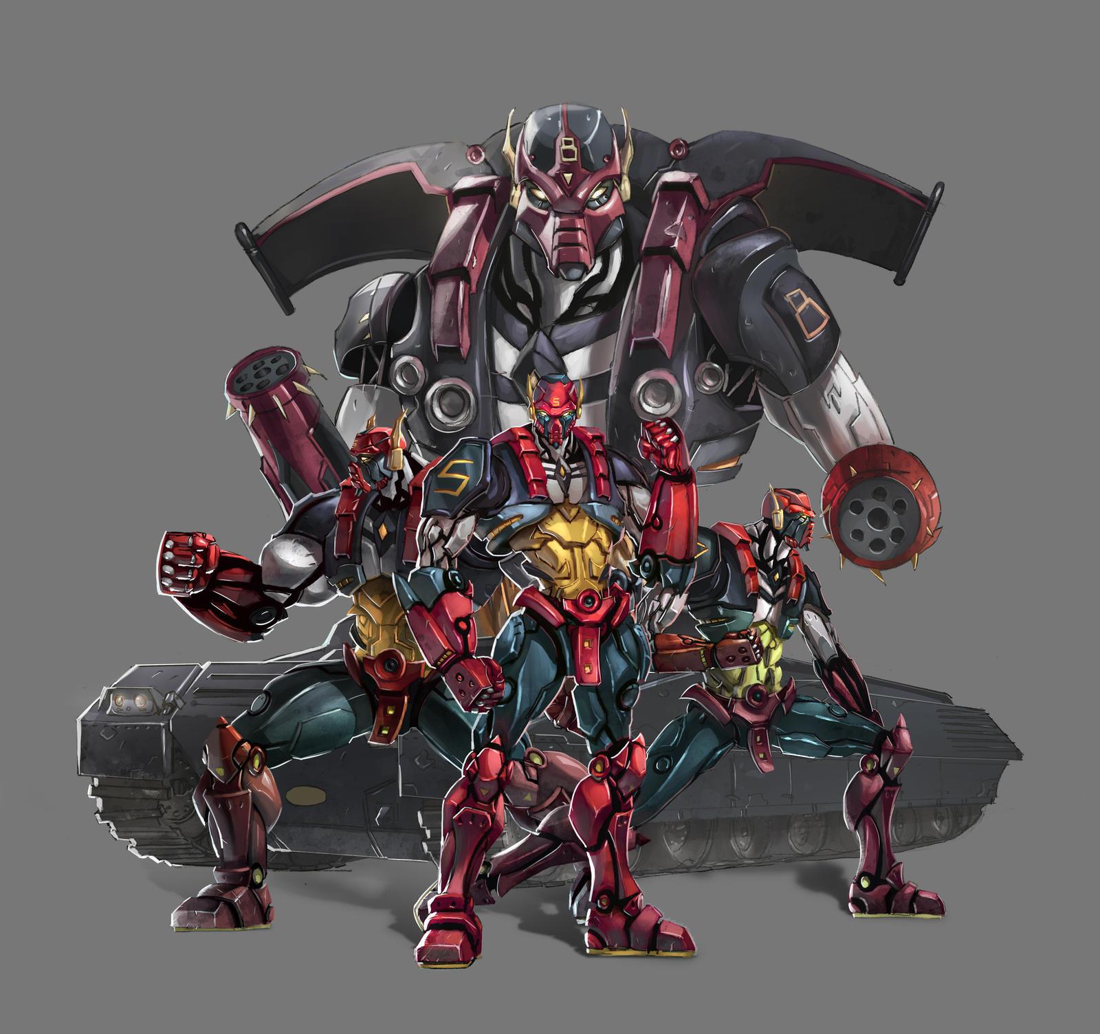 Iron Cops by xavor85