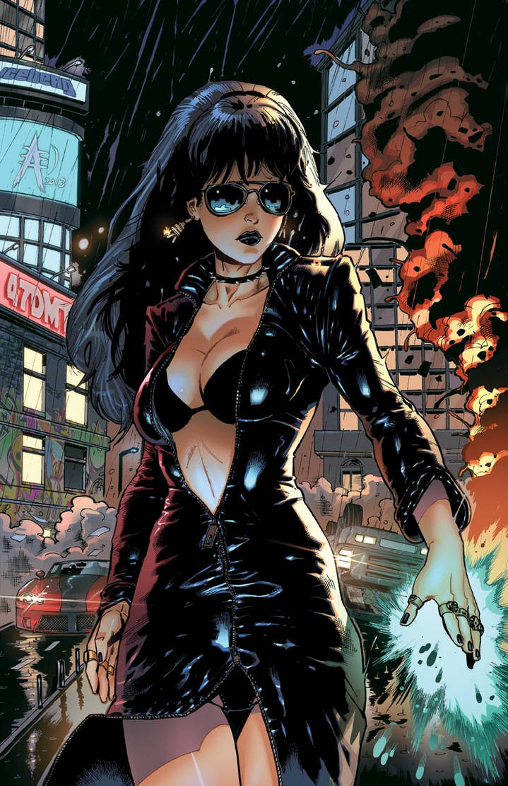 Grimm Fairy Tales - Code Red #4 colors