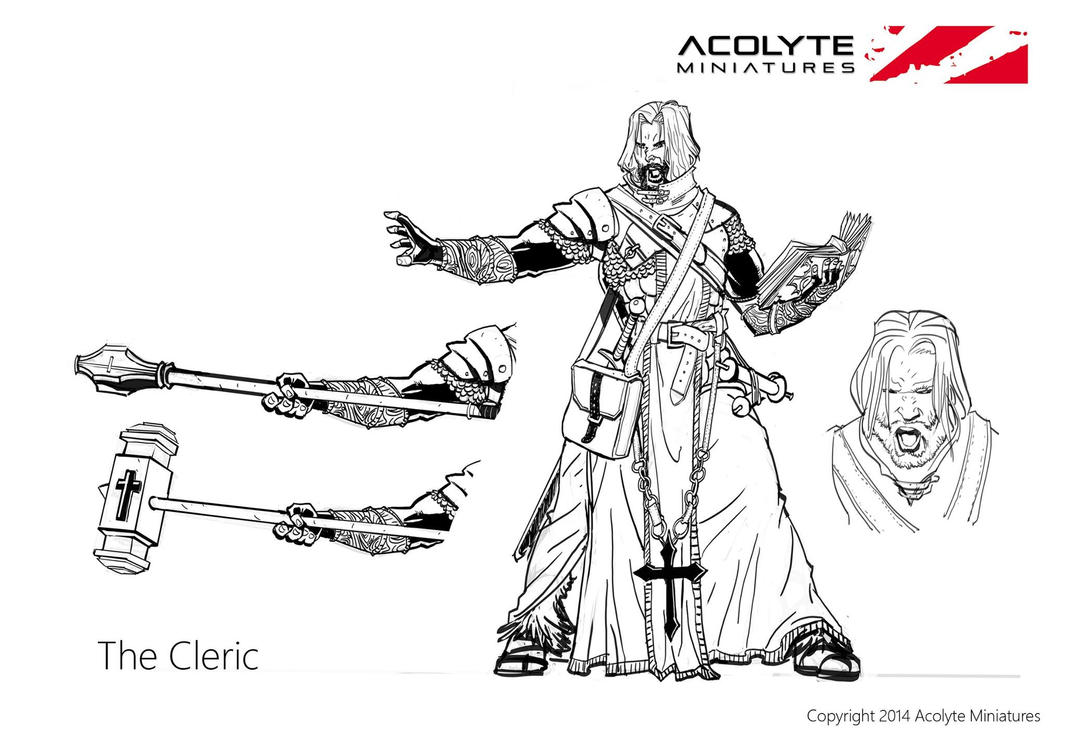 The Cleric concept by xavor85