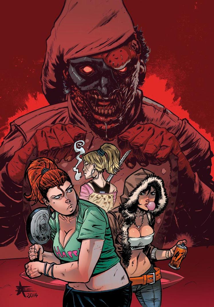 47 Deadman Talking #2 COVER by xavor85