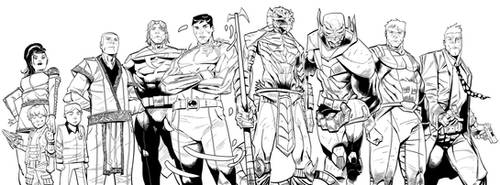 Octane Comics Headliner Illustration by xavor85