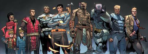 Octane Comics Headliner Colors by xavor85