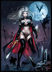 Lady Death Tribute colors by xavor85
