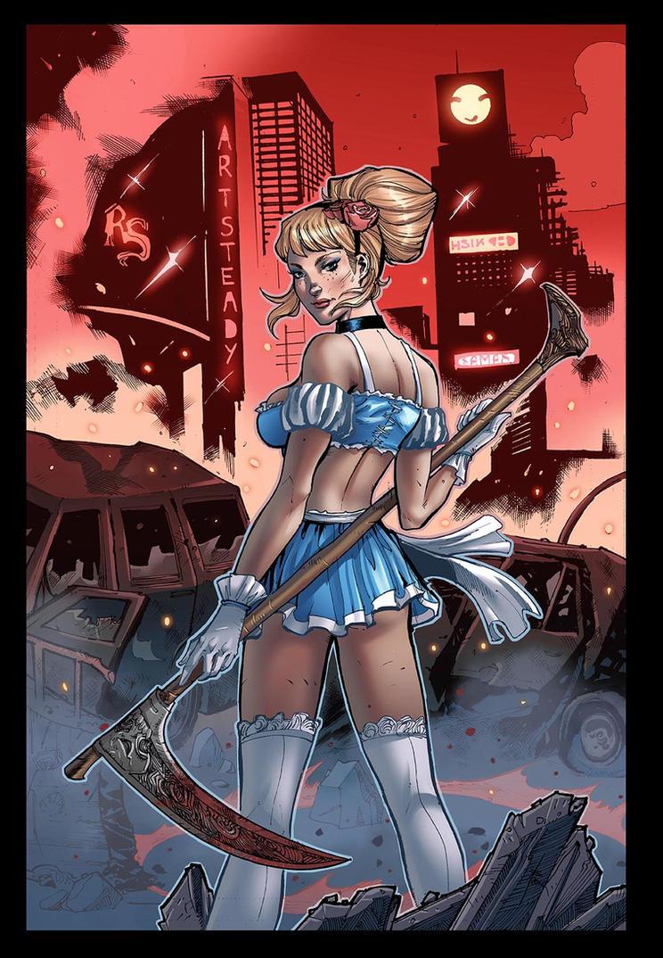 Grimm Fairy Tales - Apocalypse #1C by xavor85