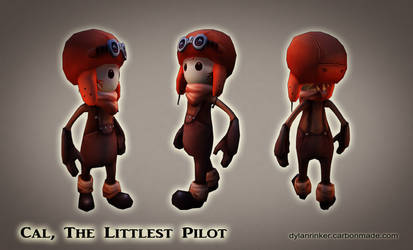 Cal, The Littlest Pilot - Low Poly - Model by Stoop--Kid