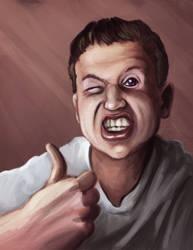 Self Portrait!  :D by Stoop--Kid