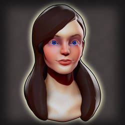 Girly Face - Speed Sculpt by Stoop--Kid