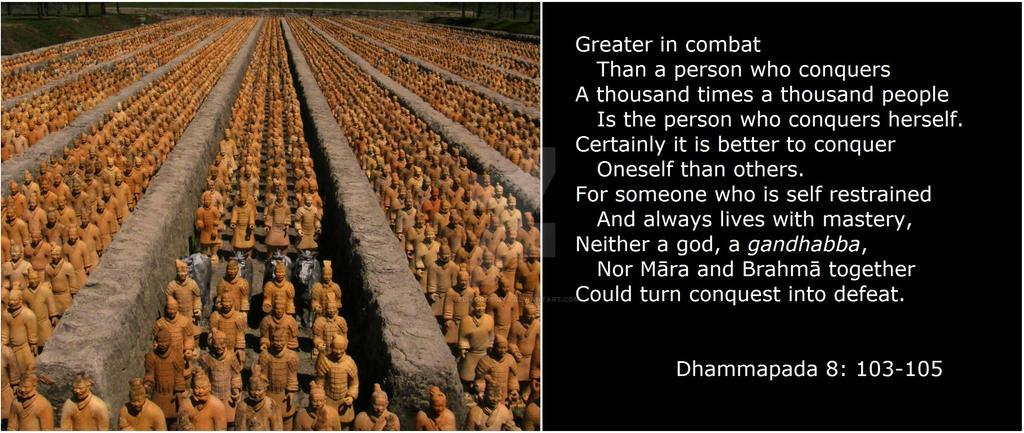 Dhammapada 8: 103-105 by Velikorossiya
