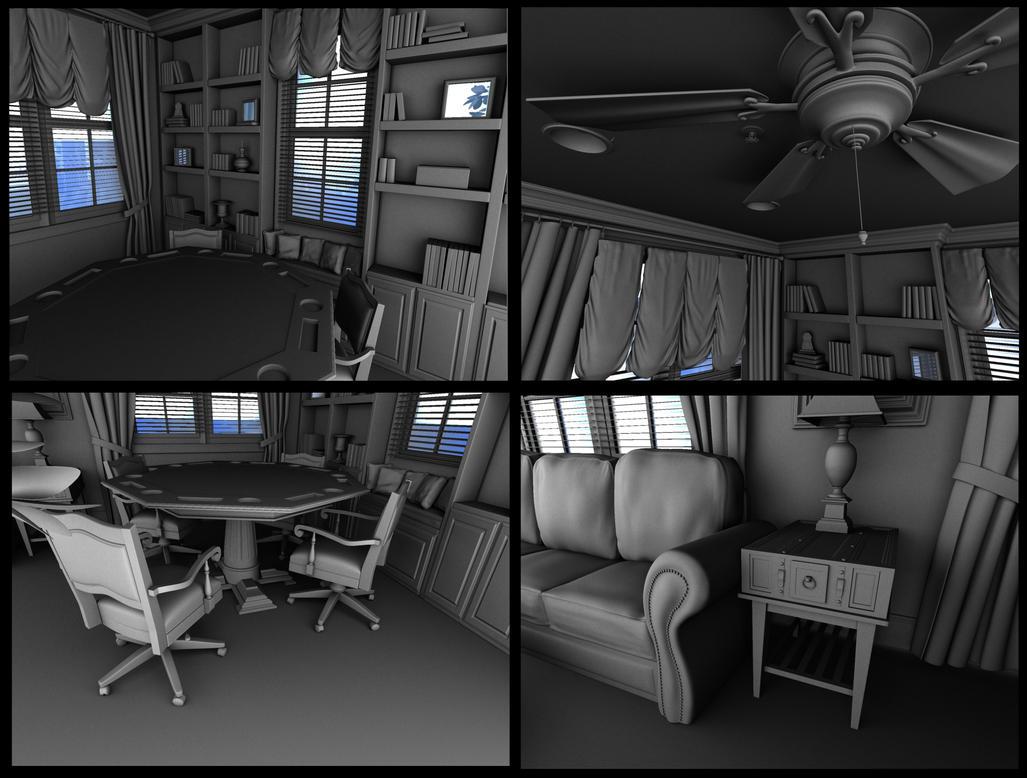 Card Room Details by devilsvsdevils