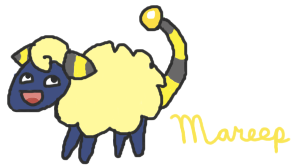 Happy Mareep by Chrysanthe-mums
